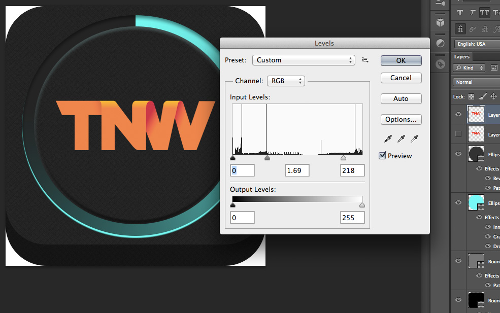 TNWTron SC13 How to create an awesome Tron inspired app icon