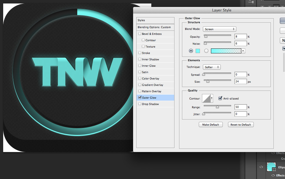 TNWTron SC18 How to create an awesome Tron inspired app icon