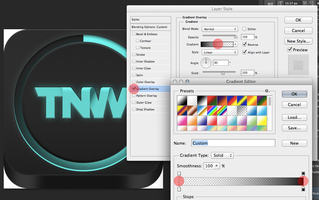 TNWTron SC23 How to create an awesome Tron inspired app icon