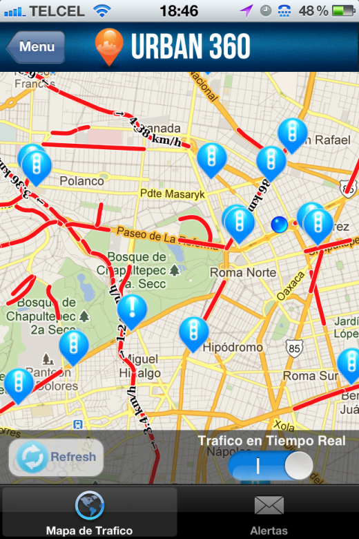Urban 360 traffic 520x780 Startup Factorys alum Urban360 targets city dwellers in Mexico and beyond