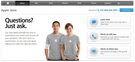 a21 520x241 Apple takes its Genius Bar online to help you set up your iPhone and iPad