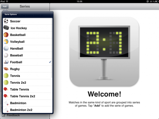 a3 520x390 Sports Counter: This iOS app helps you track scores in sports and games you play with friends