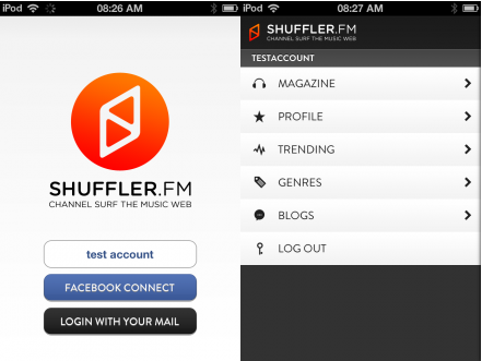 a8 TNW Pick of the Day: Shuffler.fm takes its Flipboard for music discovery app to the iPhone