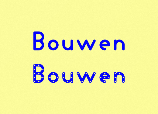 bouwen 25 Brand new typefaces released last month that you need to know about (August)