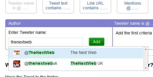c1 520x262 TNW Pick of the Day: TweetDig tidies your Twitter stream by sorting tweets into custom folders