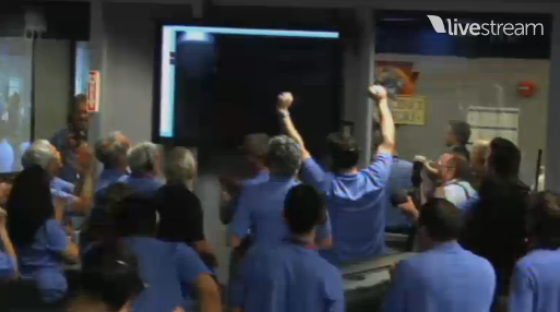 celebrations These are the first images that NASAs Curiosity sent back from Mars
