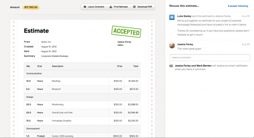 Ballpark is Beautiful CRM and Invoicing for SMB and Freelancers