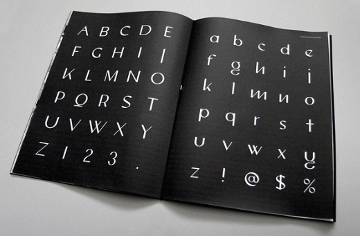 connock 25 Brand new typefaces released last month that you need to know about (August)