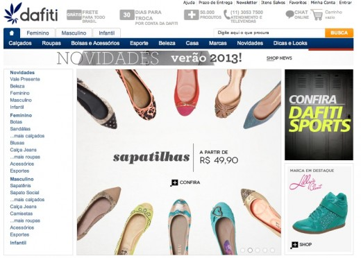dafiti 520x372 J.P. Morgan invests $45m in Brazilian online apparel and shoe retailer Dafiti