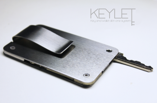 keylet2 520x340 Awesome: Kickstarter Keylet brings your key and wallet together (and its already funded)