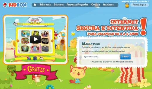 kidbox in portuguese 520x304 Kidboxs Internet playground for kids is now available in Portuguese