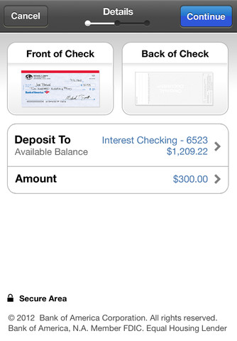Never leave the house again: Bank of America now lets you deposit checks using its mobile apps