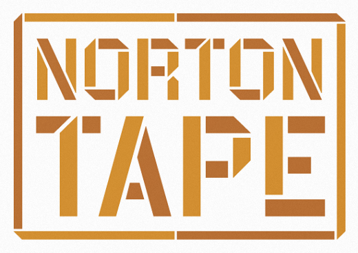 norton tape 25 Brand new typefaces released last month that you need to know about (August)