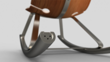 otarky chair PR 220x124 This stylish rocking chair uses your movement to charge your gadgets