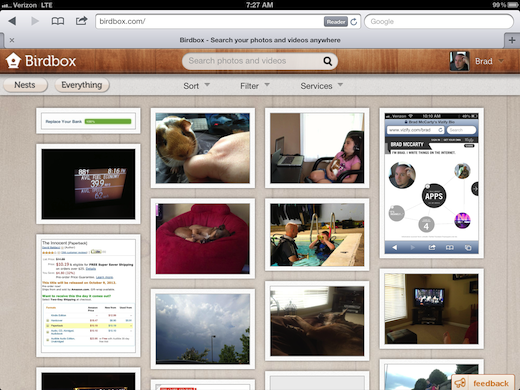 photo 12 Birdbox: Simply the best way find and organize your photos and video, no matter where its hosted