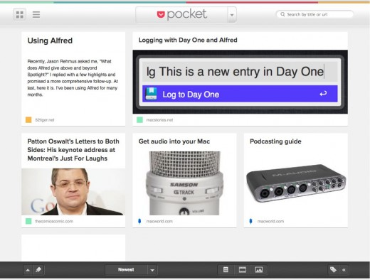 pocketQueue 520x394 Deep Dive into Pocket, the beautiful save it for later service