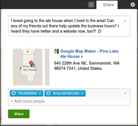 Google Map Maker gets the Google+ treatment so you can map with your friends