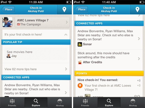 Rad: Foursquare highlights After Credits app, ensures youll never miss those end of movie teasers