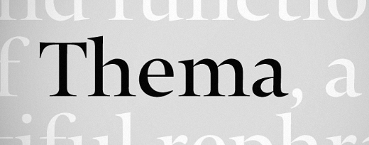 thema 25 Brand new typefaces released last month that you need to know about (August)