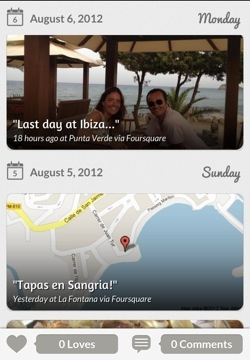tripl2 Tripl for iPhone: Following your friends travels around the world never looked so good