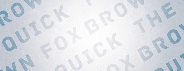 type - Quick Brow Fox copy