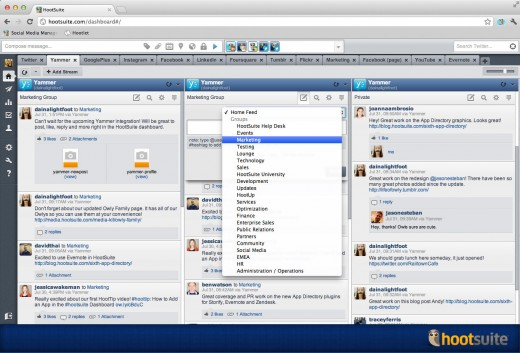 HootSuite adds Yammer to its ever growing App Directory
