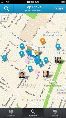 Foursquare iOS app updated with simpler Explore tab, iPhone 5 support, new search categories and more