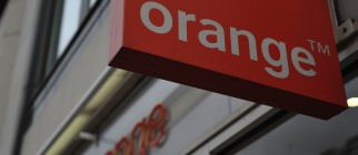 General view of an Orange shop on the St