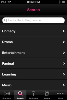 161 220x330 The BBCs new iOS iPlayer Radio app is available now, heres our full hands on review