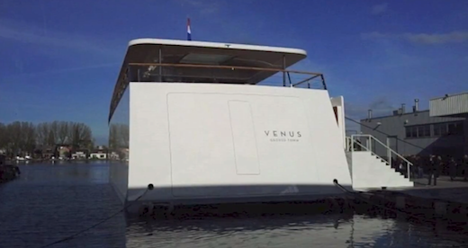 43 Steve Jobs gorgeous, high tech yacht designed by Philippe Starck makes its debut