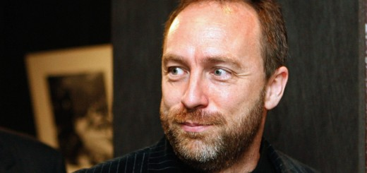 Jimmy Wales, co-founder of online collab