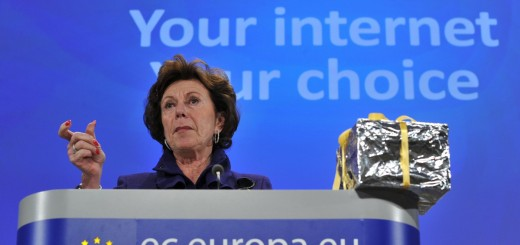 EU competition commissioner Neelie Kroes