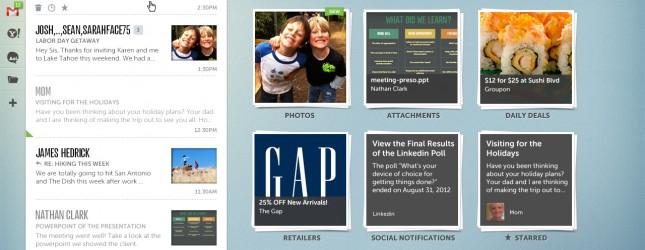 AOL Alto screenshot