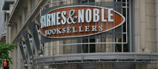 A Barnes & Noble bookstore is seen on April 30, 2012 in Washington,DC.  Microsoft teamed up Monday with US bookselling giant Barnes & Noble in a venture aimed at grabbing a bigger share of the rapidly growing market for electronic books. The world's biggest software group will make a $300 million investment in a new Barnes & Noble subsidiary focusing on the bookseller's digital reading capabilities, including its Nook tablet, and its college businesses.  The move appears to end a long patent dispute between the two firms and brings them together to battle Amazon's popular Kindle tablet and ebook reader, as well as the surging Apple iPad. AFP PHOTO/KAREN BLEIER        (Photo credit should read KAREN BLEIER/AFP/GettyImages)
