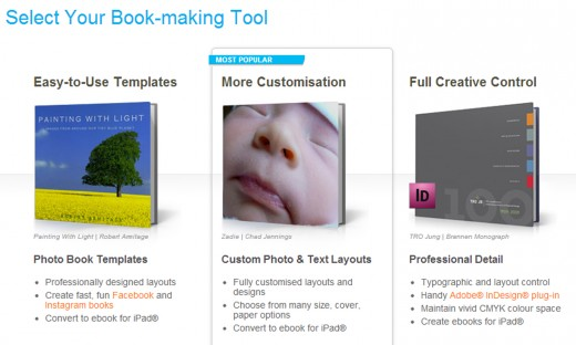 Blurb site copy 520x312 Publishing platform Blurb releases updated ebook editor for adding audio and video to stories