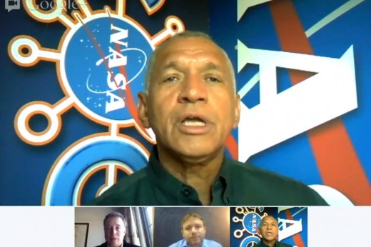Charlie Bolden 520x346 Elon Musk and Charlie Bolden of NASA discuss Sundays Dragon capsule mission in Google hangout