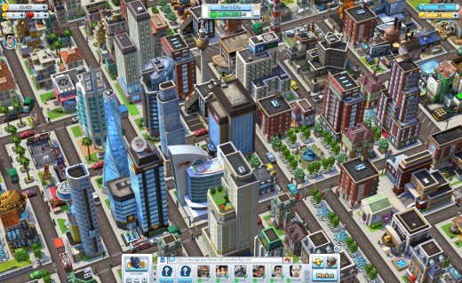 CityVille2 Overhead Daytime 520x319 Amid Zyngas layoffs and shuttering of games, the social game company launches CityVille 2 on Facebook
