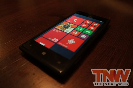 DSC01087wtmk 520x345 Review: HTC Windows Phone 8X
