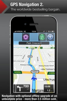 GPSNav2 220x330 Apple got you lost? 40 alternative map & GPS apps for iOS