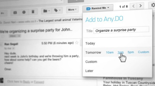 Gmail Addon PR 520x288 Any.DOs Chrome app now lets you create to do lists directly from Gmail