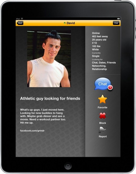App like grindr for straight