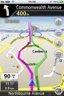 Navfree Australia 220x330 Apple got you lost? 40 alternative map & GPS apps for iOS