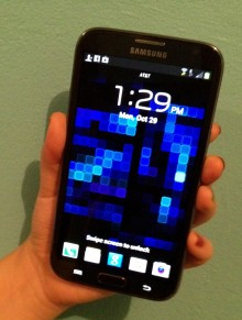 NoteII 220x291 Review: The Samsung Galaxy Note II is a promising, if not perfect, mix of tablet and phone