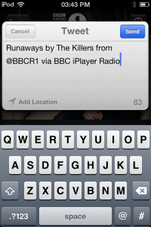 Photo 08 10 2012 03 43 04 PM 220x330 The BBCs new iOS iPlayer Radio app is available now, heres our full hands on review