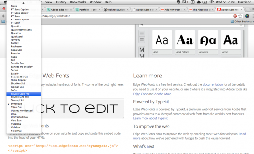 Screen Shot 2012 10 03 at 5.16.40 PM 520x316 Heres a better way to browse Adobes new Edge Web Fonts service