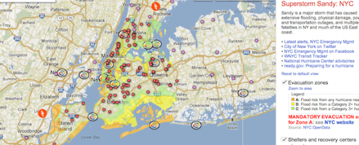 Screen shot 2012 10 31 at 10.54.46 AM1 520x211 Geeks Without Bounds Organizes Hackathons to help crisis response for Sandy