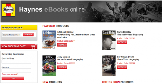 Screenshot 11 520x270 Haynes Publishing sidesteps Amazon to independently publish its first range of eBooks