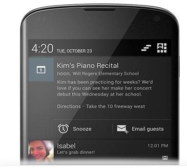 Screenshot 114 Google announces Android 4.2, a new flavor of Jelly Bean with gesture typing and slick photo sphere camera