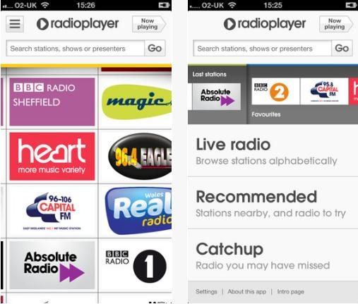 Screenshot 13 BBC backed RadioPlayer brings 300 UK radio stations together in a new native iOS app
