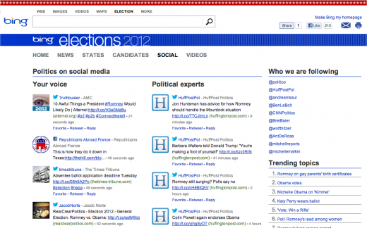Snap 2012 10 26 at 01.30.23 520x324 Microsoft launches Bing Elections to curate news, results, and social media insights